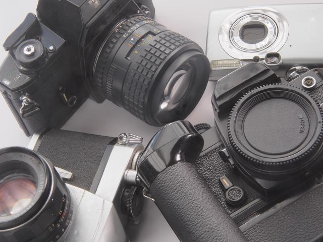 カメラやカメラレンズを処分する方法