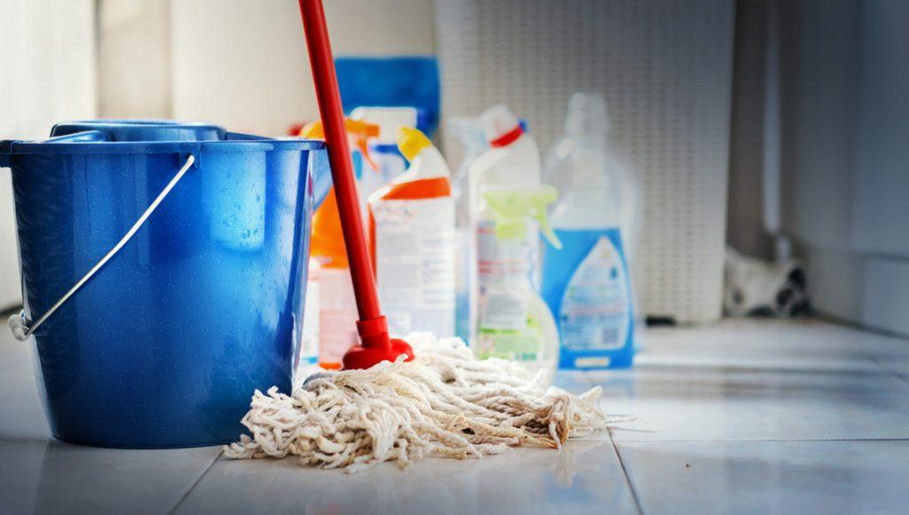 きれいに掃除をする