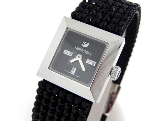 スワロフスキーの腕時計