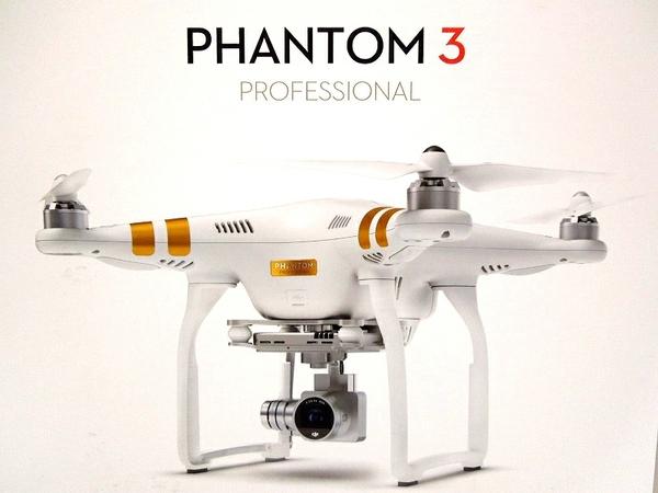 Phantom 3 Professional 4Kカメラ搭載モデル