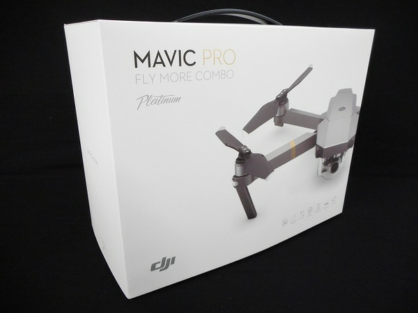 DJI Mavic Pro Fly More Combo (JP) Platinum