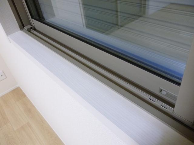窓サッシのカビの有無