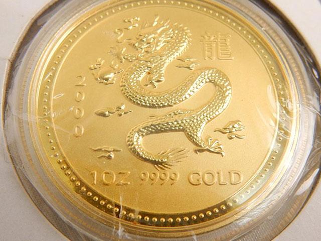外国金貨 状態写真