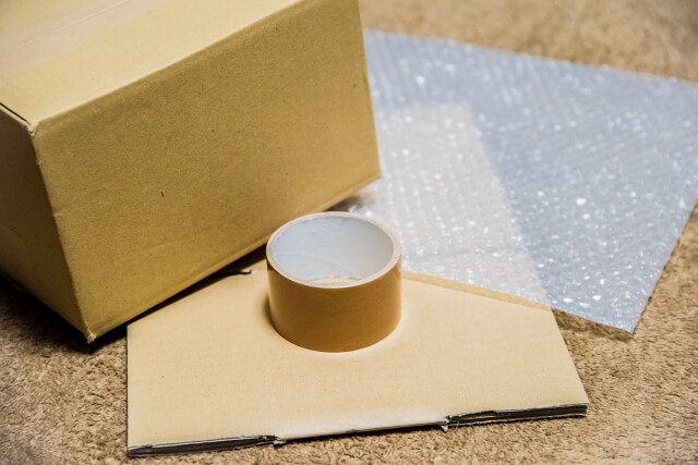 買取業者を利用する際の梱包方法を紹介